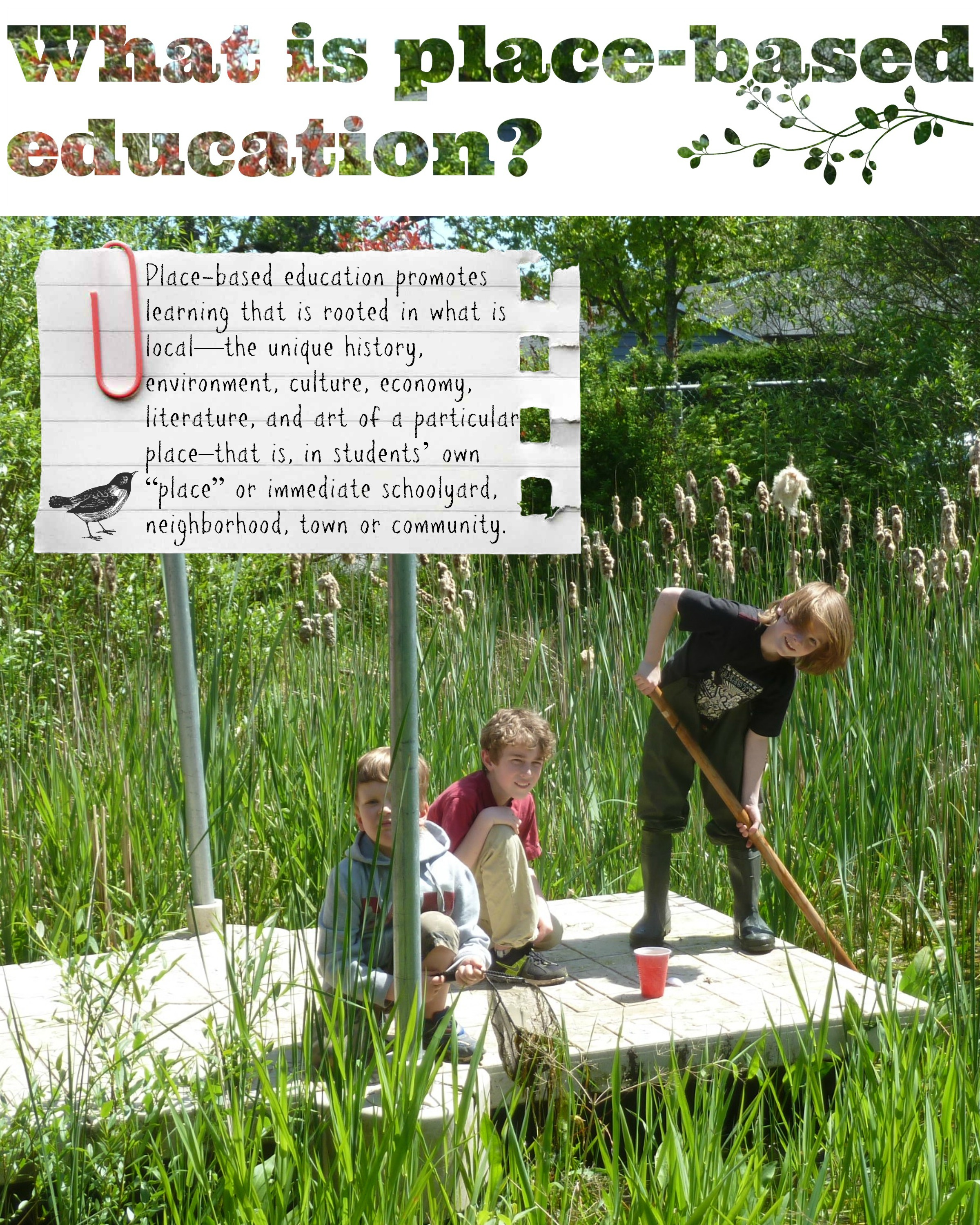 What is place based education - main page